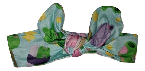 FROGGIE TREATS Matching Boutique Fabric HAIRBAND HEADBAND DESIGNED BY KEROKEROKOUHAI