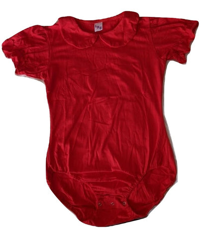 Lil Baby Doll Red Onesie