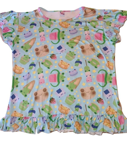 Froggie Treats DIAPER SHIRT