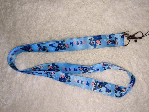Alien Blue badge holders - LANYARDS