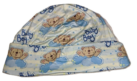 BABY BOY Matching Adult Newborn Baby Hat Cap