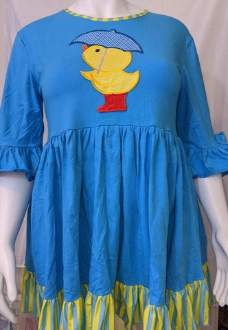 Lil Ducky 2pc  Dress & Matching Bloomers Shorts Outfits