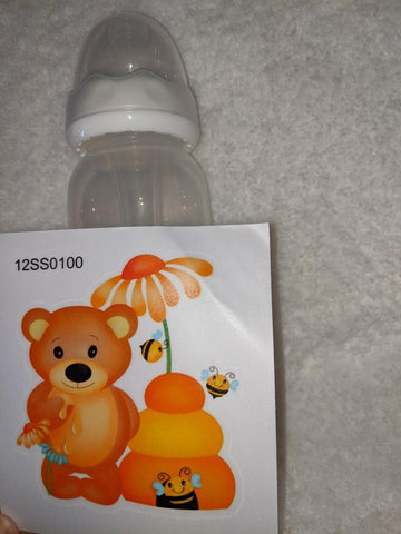 Bear 9oz Baby Bottle with ADULT Teat