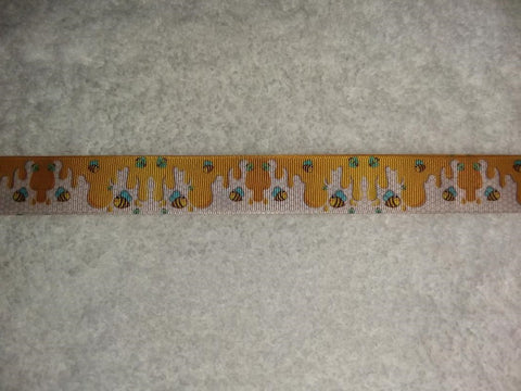 "Bee Honey HAND CRAFTED PACIFIER DUMMY CLIP - 10""-12"""