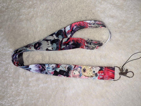 Anime Ghoul badge holders - LANYARDS