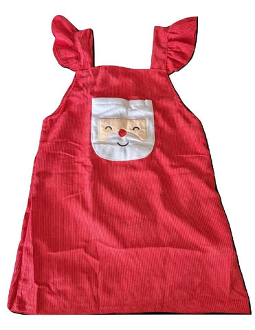 Santa Matching Corduroy Jumper Matching Dress * Look over Measurements