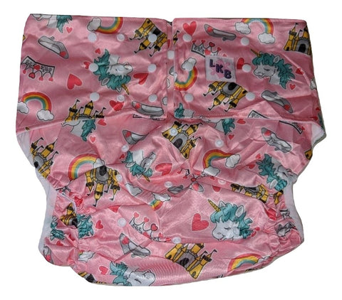 Princess Unicorn Pocket DIAPER