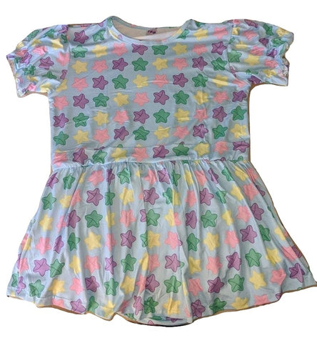 DISCONTINUED Lucky Stars Romper Dress DESIGNED BY KEROKEROKOUHAI Clearance