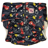 Fire Truck Pocket DIAPER