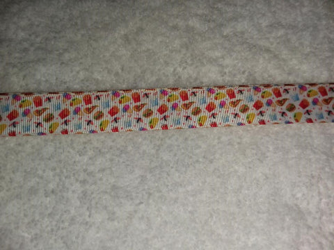 "Fast Food Hand Crafted Pacifier Dummy Clip - 10""-12"""