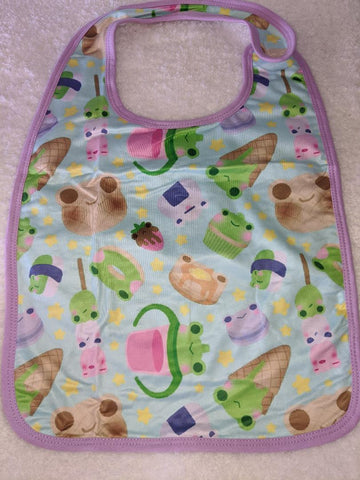 Froggie Treats Matching Bib DESIGNED BY KEROKEROKOUHAI