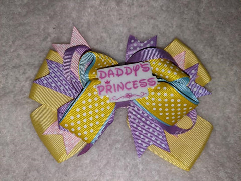 Daddy's Princess Boutique Hair Bow