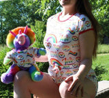 Royal Elephant Stuffy Matching Shirt