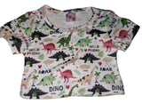 WILD DINO FRIENDS Stuffy Matching Shirt