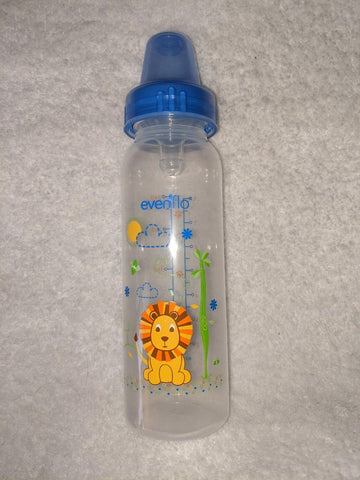 Lion Bottle with choice of silicone teat