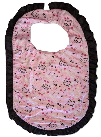Pretty Kitty Ruffle Matching Bib Designed by @QueenPinPrincess
