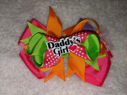 Daddy's Girl Boutique Hair Bow