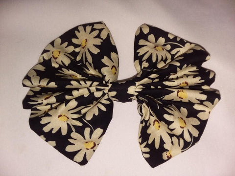 HairBow Discontinued DAISY MATCHING Boutique Fabric Hair Bow Clearance