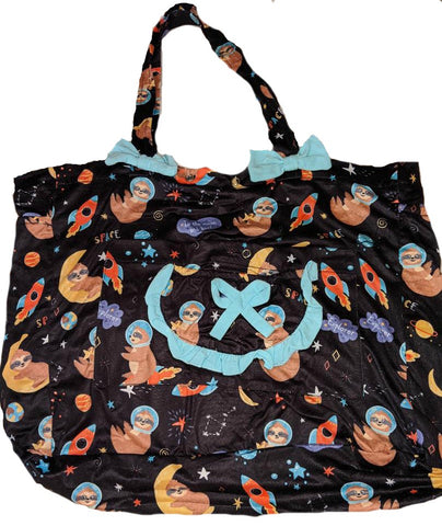 SLOTHS IN SPACE Diaper Bag Clearance
