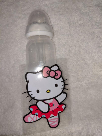 Kitty Dance 9oz Baby Bottle with ADULT Teat