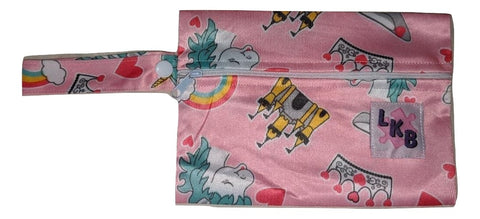 PRINCESS UNICORN PACIFIER CARRYING CASE BAG