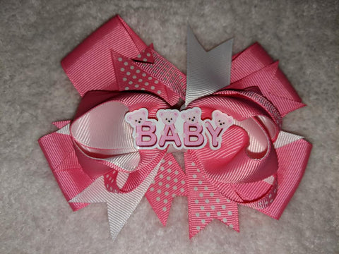 Baby Bottle Cap Boutique Hair Bow