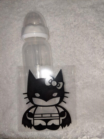 Kitty  Hero 9oz Baby Bottle with ADULT Teat