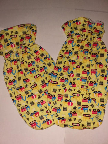 DISCONTINUED LIL CONSTRUCTION VEHICLES Adult Mittens Clearance