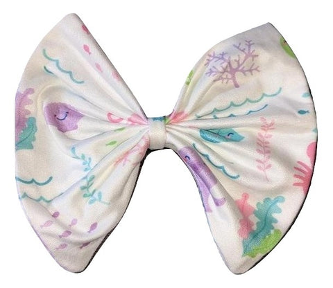 UNDER THE SEA Matching Hair Bows