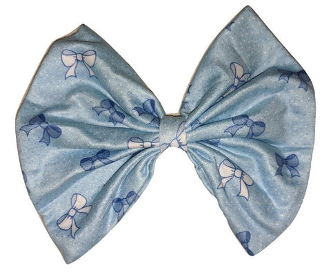 Lil Pretty Bows MATCHING Boutique Fabric large Hair Bow