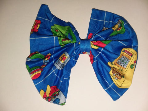 Ultra Puppy Arcade Gamer Hair Bows