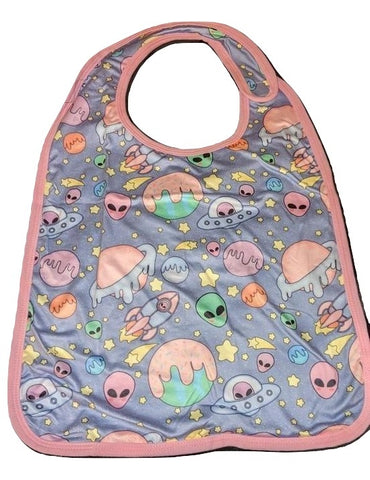 Pastel Aliens Matching Bib Designed by @littlepastelalien