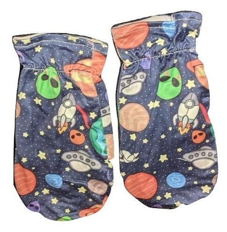 Lost in Space Matching Mittens Set Designed by @littlepastelalien
