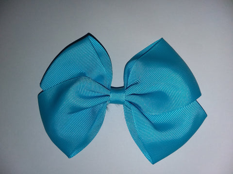 Daddy's Kisses make everything better Bottle Cap Boutique Hair Bow HB694