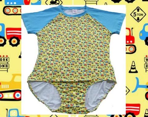 Lil Construction Vehicles Onesie