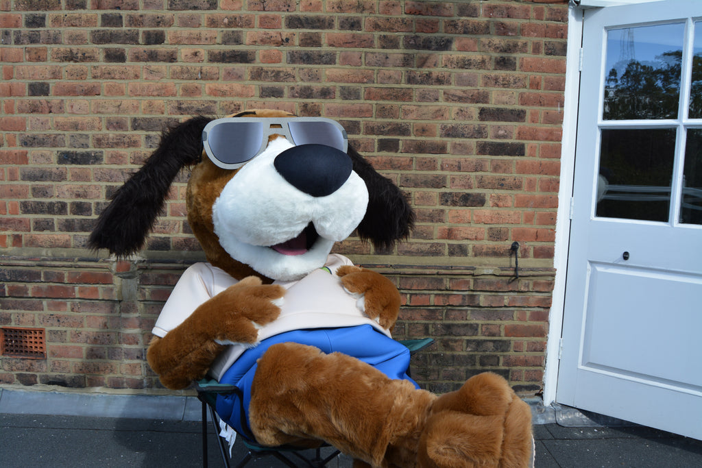 Easy Paws Mats Dog Mascot