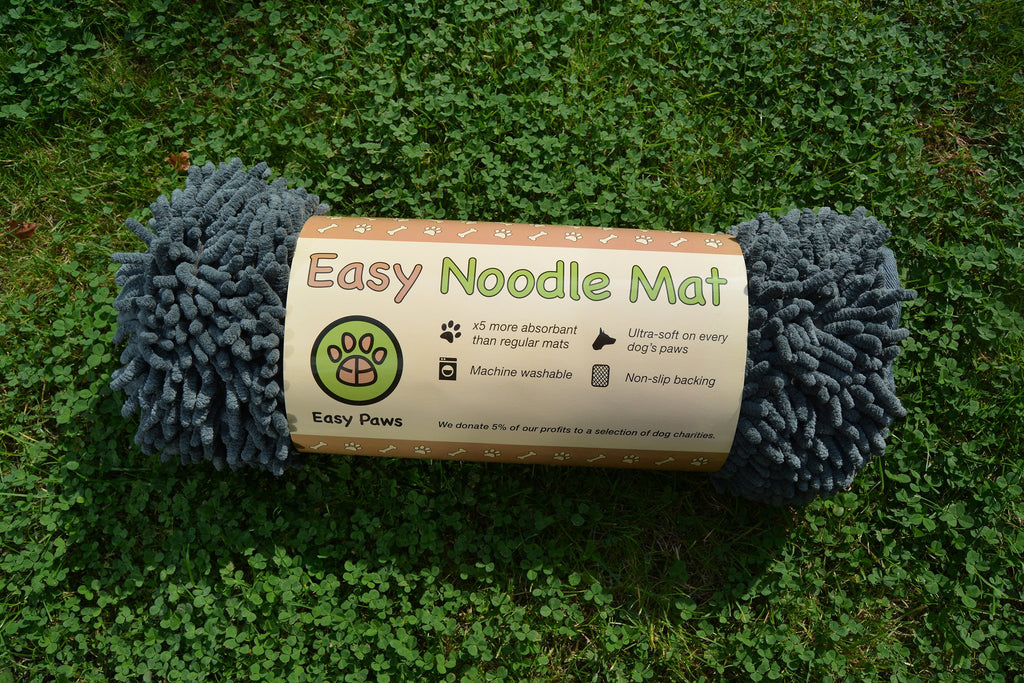 Easy Noodle Mat (Bone) - Steel