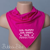 100% Perfection Bandana Bib