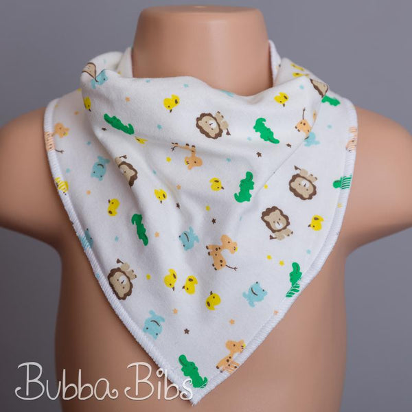 Baby Animals Bandana Bib - bubbabibs