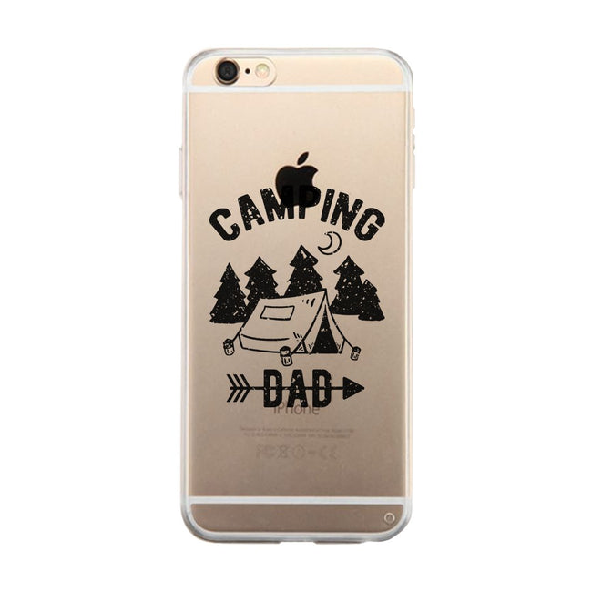 Camping Dad Clear Phone Case