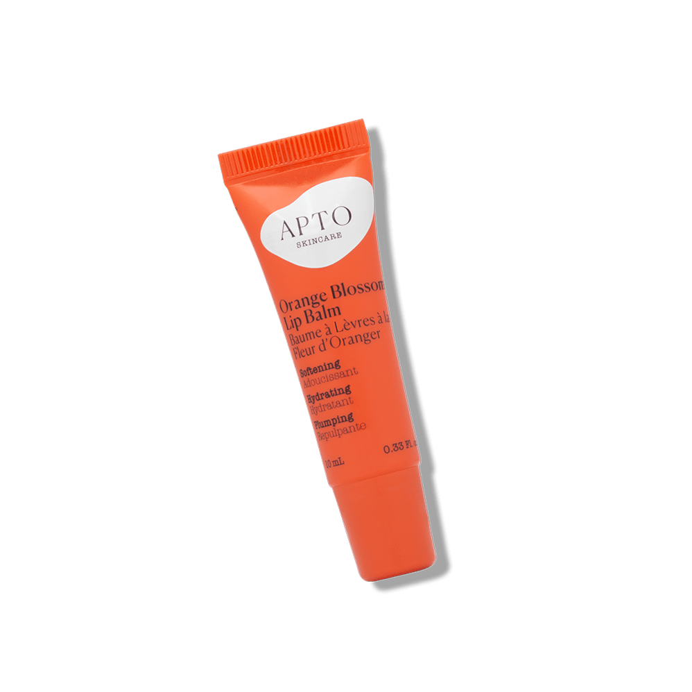 APTO Orange Blossom Lip Balm with Coconut Oil