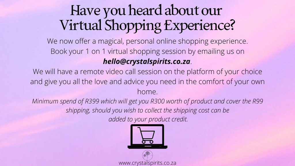 Have you Heard about our Virtual Shopping?