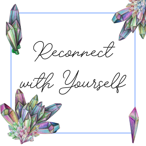Reconnect with Yourself Crystal Grid