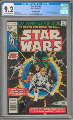 The Rarest Comic Books #2: Star Wars #1 35 Cent Variant | Lowest Print Run Comics