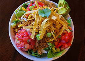 Tacos in a Bowl