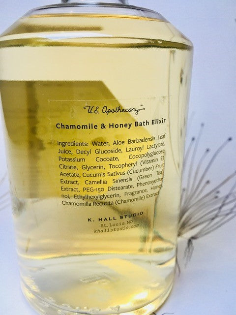 Elixir of bath camomile and honey TRS&CO