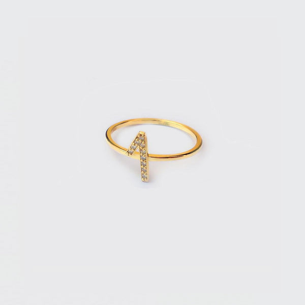ring estimates golden plated money and oxides e cubic zirconia by Brigitte Tanaka