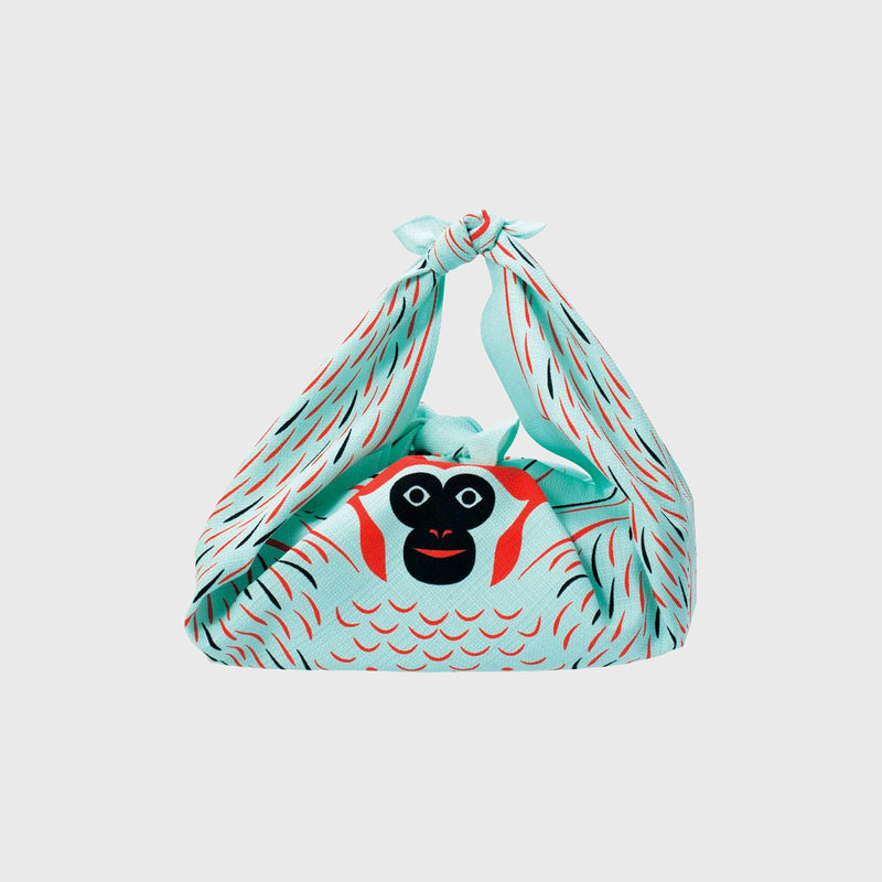 Furoshiki Grand Monkey blue