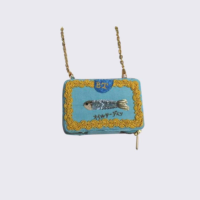 Atypical sardine pouch