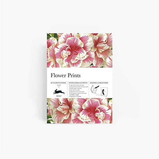 Gift wrap Flower prints | Pepin press